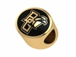 Bowling Green Falcons 14kt Gold Bead