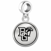 Bowling Green Falcons Border Round Dangle Charm
