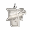 Bowling Green Falcons Natural Finish Charm