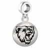 Bridgewater State Round Dangle Charm