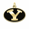 Brigham Young Cougars 14KT Gold Charm
