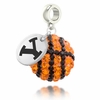 Brigham Young Cougars Crystal Drop Charm