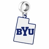 Brigham Young Cougars Logo Dangle Charm