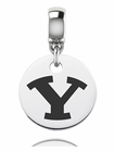 Brigham Young Round Dangle Charm