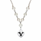 BYU Cougars Heart Necklace