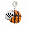 Cal State Long Beach 49ers Crystal Drop Charm