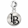 Cal State Long Beach Round Dangle Charm