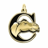 Campbell Fighting Camels 14KT Gold Charm