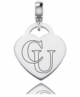 Campbell Engraved Heart Dangle Charm