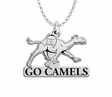 Campbell Fighting Camels Spirit Mark Charm