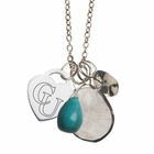 Campbell Turquoise Drop Necklace