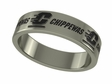 Central Michigan Chippewas Stainless Steel Ring