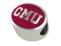 Central Michigan Enamel Bead
