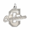Charleston Cougars Natural Finish Charm