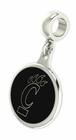 Cincinnati Bearcats CINCY Silver Dangle