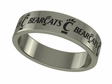 Cincinnati Bearcats Stainless Steel Ring