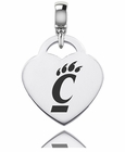Cincinnati Engraved Heart Dangle Charm