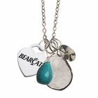 Cincinnati Turquoise Drop Necklace
