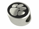 Clemson Tigers Antiqued Bead
