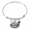 Collegiate Bangle Style Charm Bracelets