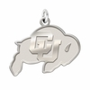 Colorado Buffaloes Natural Finish Charm