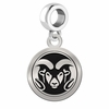 Colorado State Round Dangle Charm