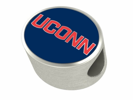Connecticut Huskies Enamel Bead