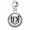 Davenport Panthers Border Round Dangle Charm