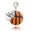 Delaware Crystal Drop Charm
