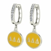 Delta Delta Delta Hoop Earrings