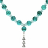 Delta Delta Delta Lavaliere Drop Necklace