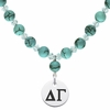 Delta Gamma Turquoise Necklace
