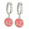 Delta Zeta Gamma Hoop Earrings