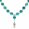 Delta Zeta  Lavaliere Drop Necklace