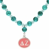 Delta Zeta Turquoise Drop Necklace