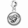 Eastern Kentucky Colonels Border Round Dangle Charm