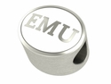 Eastern Michigan Eagles Enamel Bead
