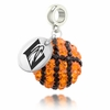Emory Eagles Crystal Drop Charm