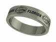 Florida Gators Stainless Steel Ring