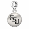 Florida State Round Dangle Charm