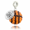 Fresno State Bulldogs Crystal Drop Charm