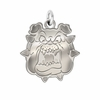 Fresno State Bulldogs Natural Finish Charm