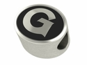 Georgetown Hoyas Antiqued Bead