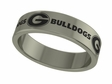 Georgia Bulldogs Stainless Steel Ring