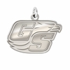 Georgia Southern Eagles Natural Finish Charm