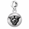 Georgia State Round Dangle Charm
