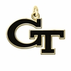 Georgia Tech Yellow Jackets 14KT Gold Charm