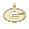 Grambling State Tigers 14K Yellow Gold Natural Finish Cut Out Logo Charm