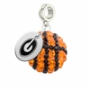 Grambling State Tigers Crystal Drop Charm