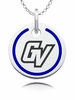 Grand Valley Lakers Round Enamel Charm